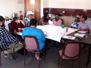Dier language committee at work