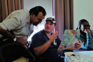 Discussing words in the Dieri Yawarra resource book